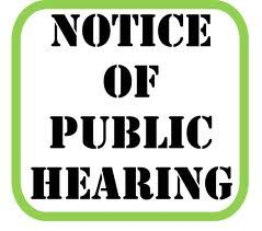 Notice of Public Hearing: Annual Budget Plan and Annual Service Plan for 2019-2020