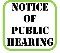 Notice of Public Hearing:2021-2022 Annual Budget Plan and Annual Service Plan